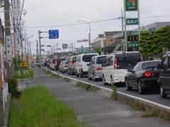 レイクタウン渋滞