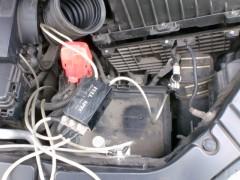 バッテリーを撤去